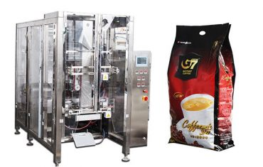 Automatic quad seal bag VFFS packaging machine