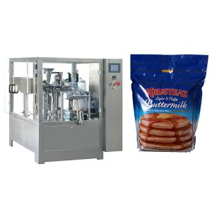 Zipper Stand-Premade Pouch Packing Machine